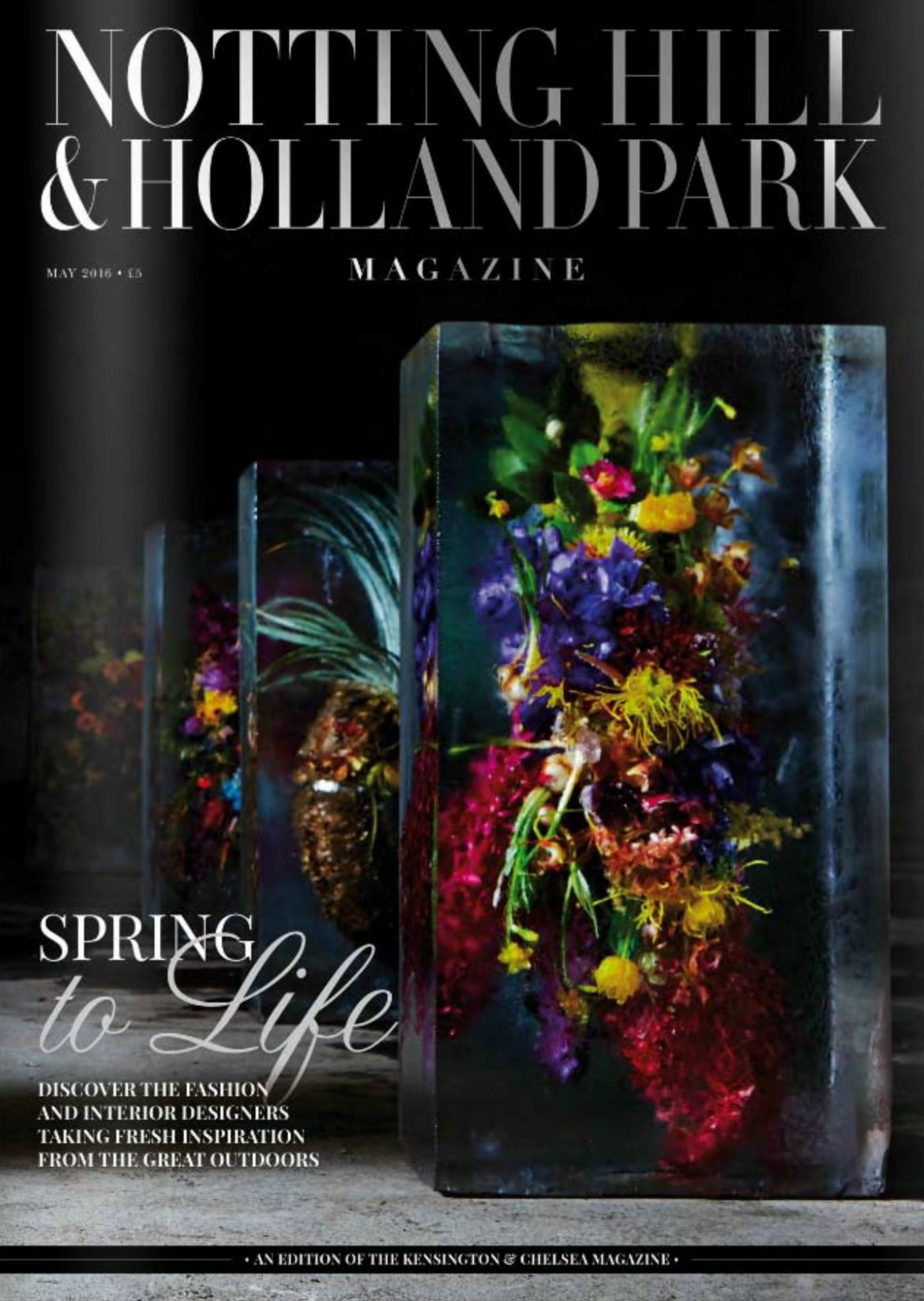 Thameen Fragrance featured in Notting Hill & Holland Park May issue